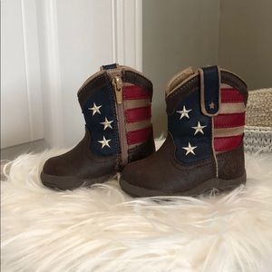 Brand new Americana Roper boots with zipper